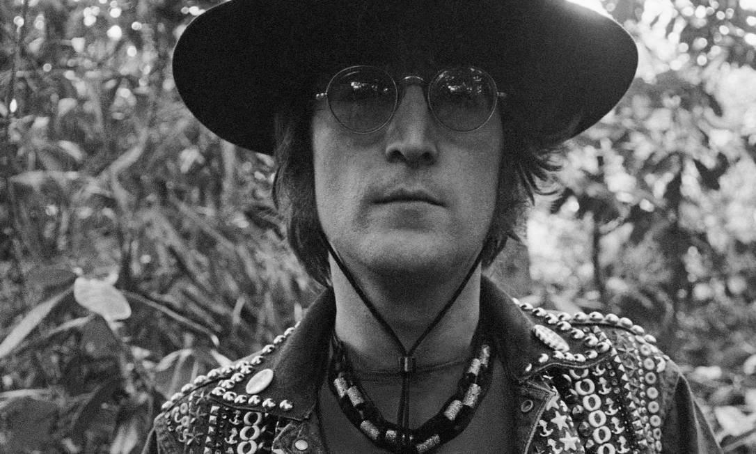 O cantor e compositor John Lennon Foto: Divulgação