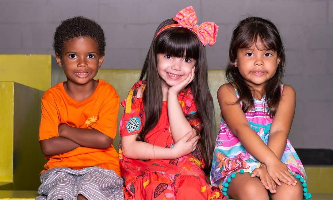 Benicio Cardoso, Maria Clara Willmersdorf e Valentina Sobrinho Foto: Divulgação/@photohonorato