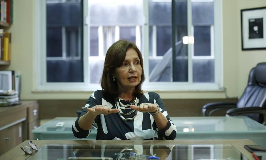 Martha Rocha disputa a prefeitura do Rio pelo PDT Foto: Fabio Rossi / Agência O Globo