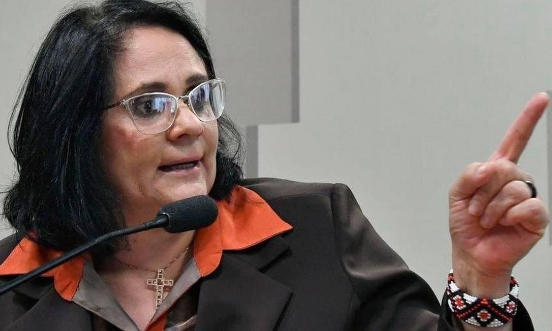 Ministério de Damares tem vínculos investigados pela PF Foto: Geraldo Magela / Agência Senado / Agência Brasil