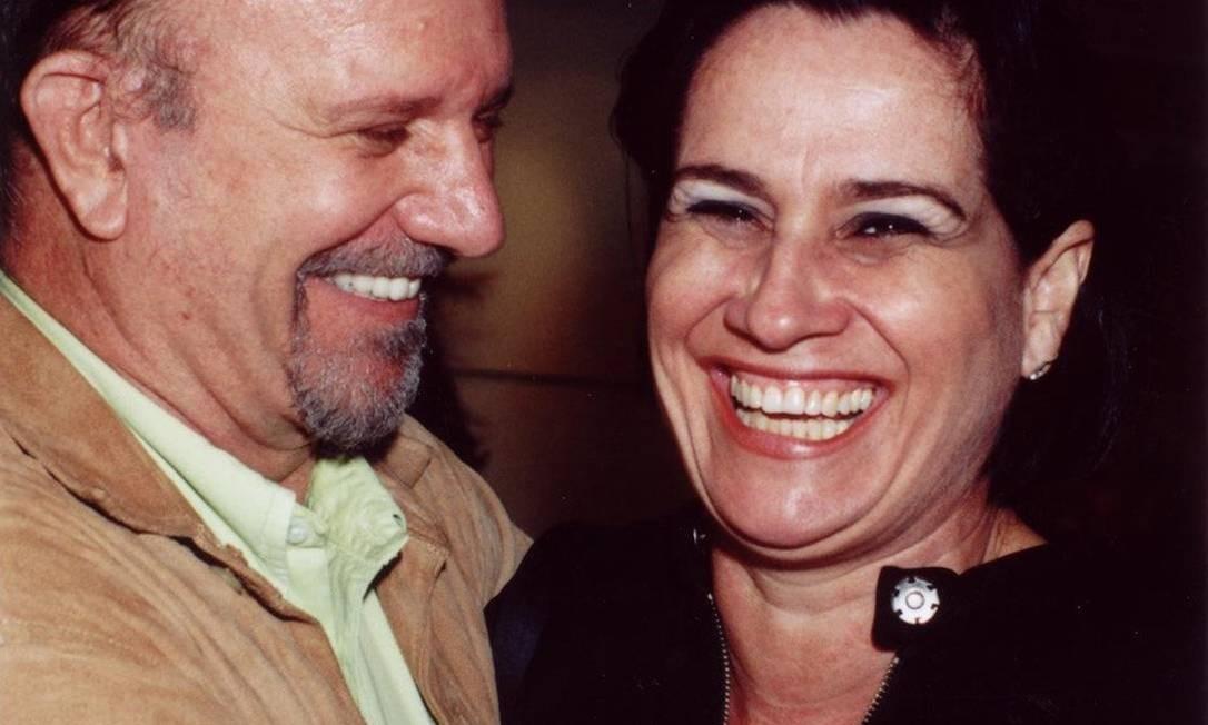 Cecil Thiré e Vera Holtz, em 2002 Foto: Armando Araújo