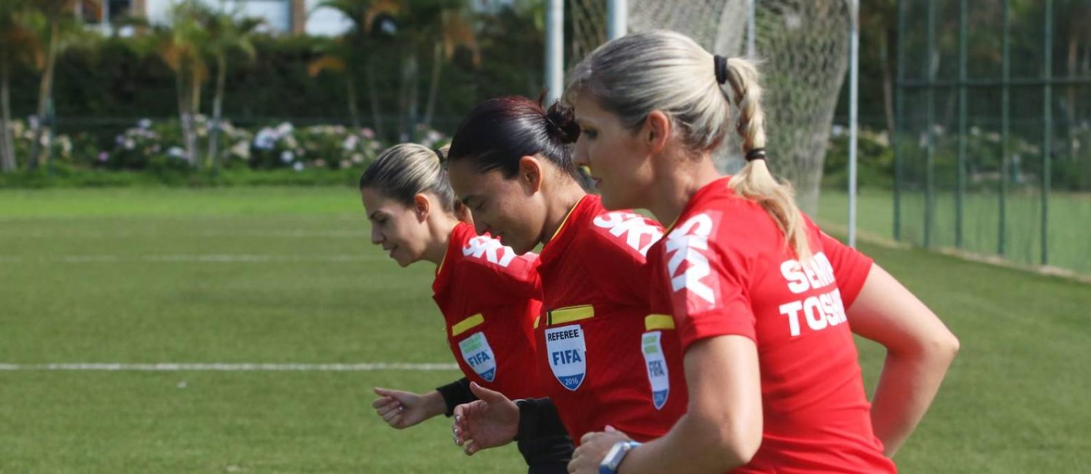 Brasil tem evolução da participação feminina nas escalas de arbitragem Foto: CBF