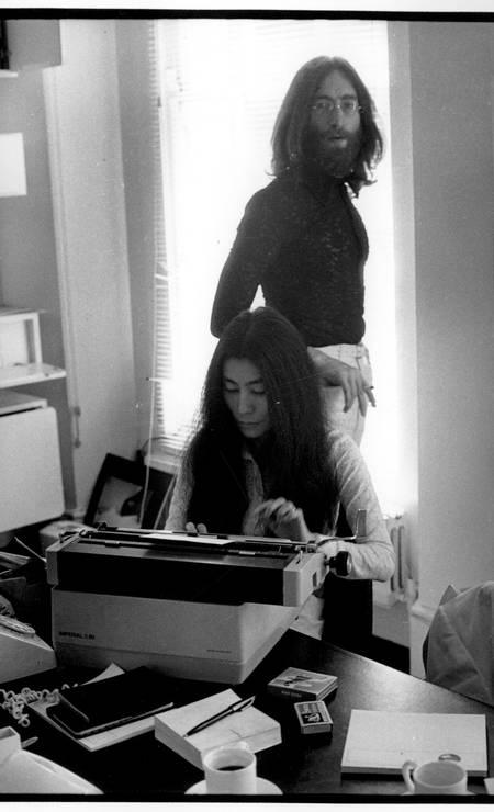 Lennon e Yoko Foto: