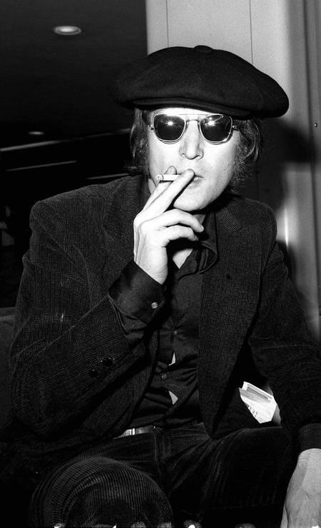 John Lennon retratado em julho de 1971 Foto: Divulgação