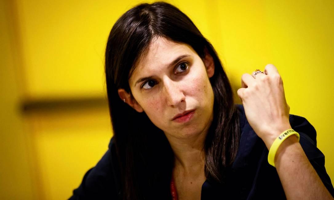 Elly Schlein diz que esquerda precisa se reconectar com as pessoas e os temas atuais Foto: ©Musacchio / Reprodução