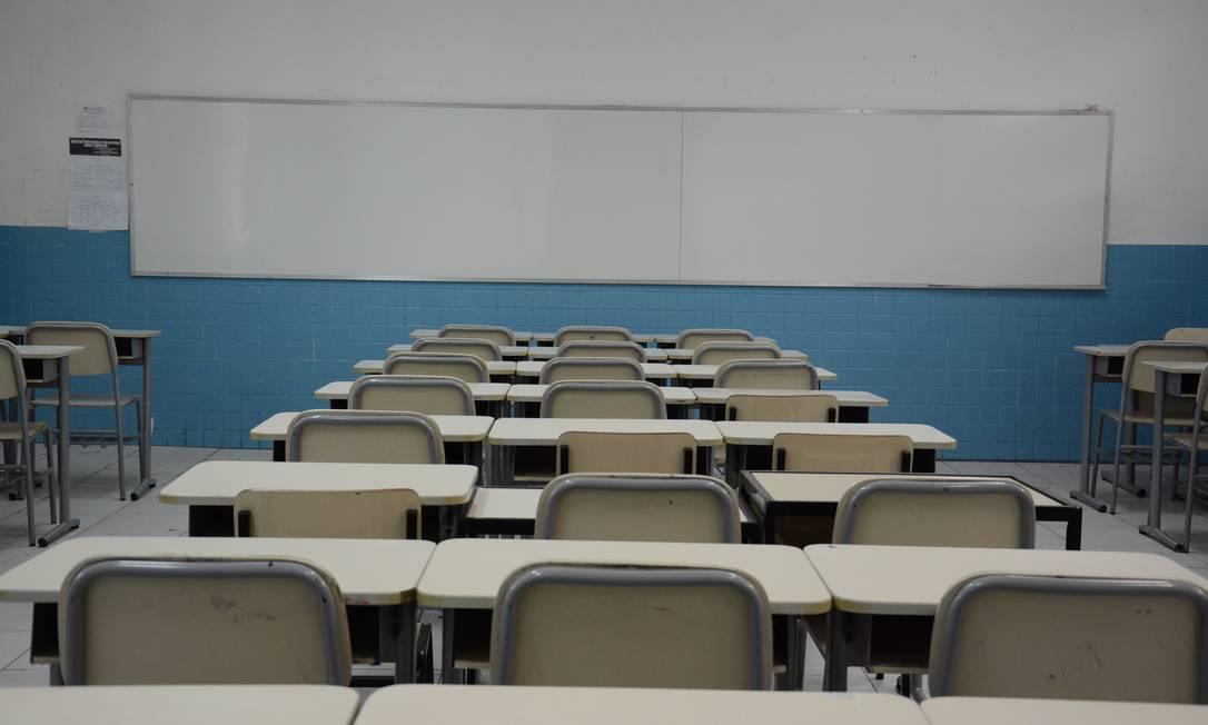 Sala de aula do ensino fundamental do Colégio Pedro II Foto: Divulgação / Agência O Globo