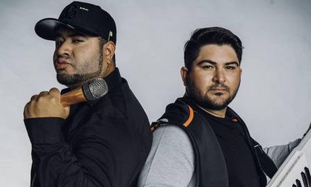 Rodrigo e Felipe, os Barões da Pisadinha Foto: Marcelo Batista