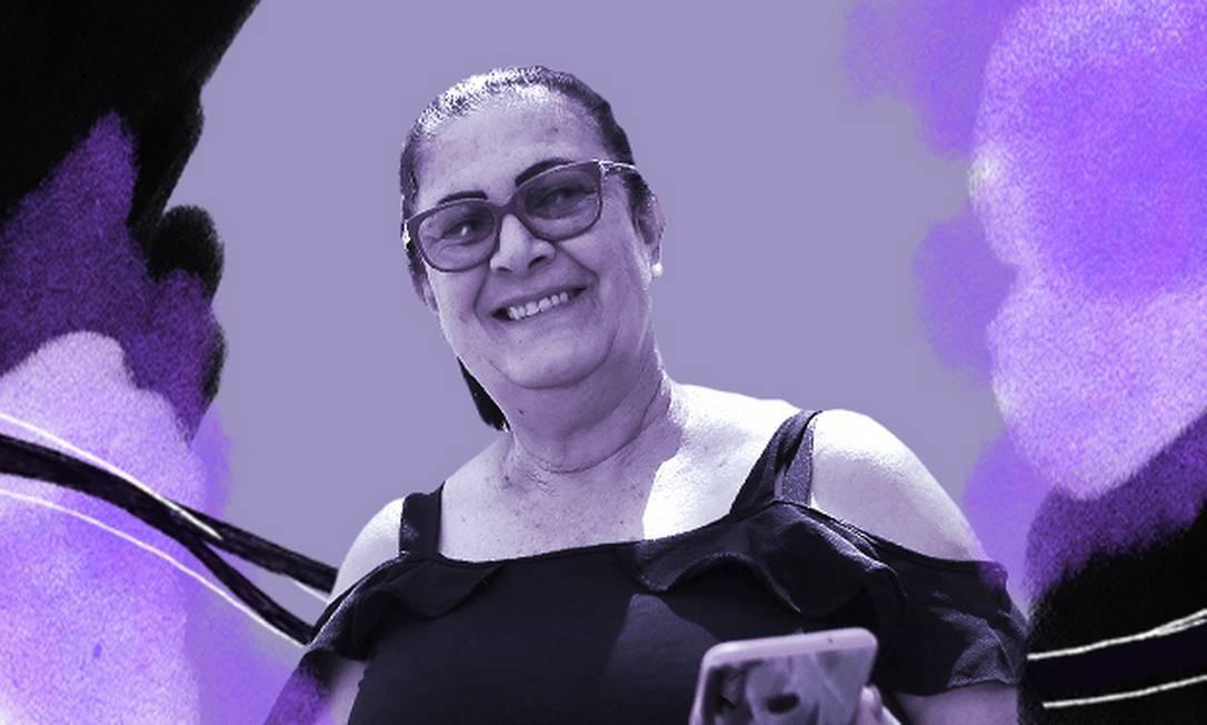 Candidata a vereadora de Cabeceiras pela primeira vez, Maria Lúcia Gomes pede voto de porta em porta e tenta repetir feito inédito da tia Foto: Jorge William/Agência O Globo