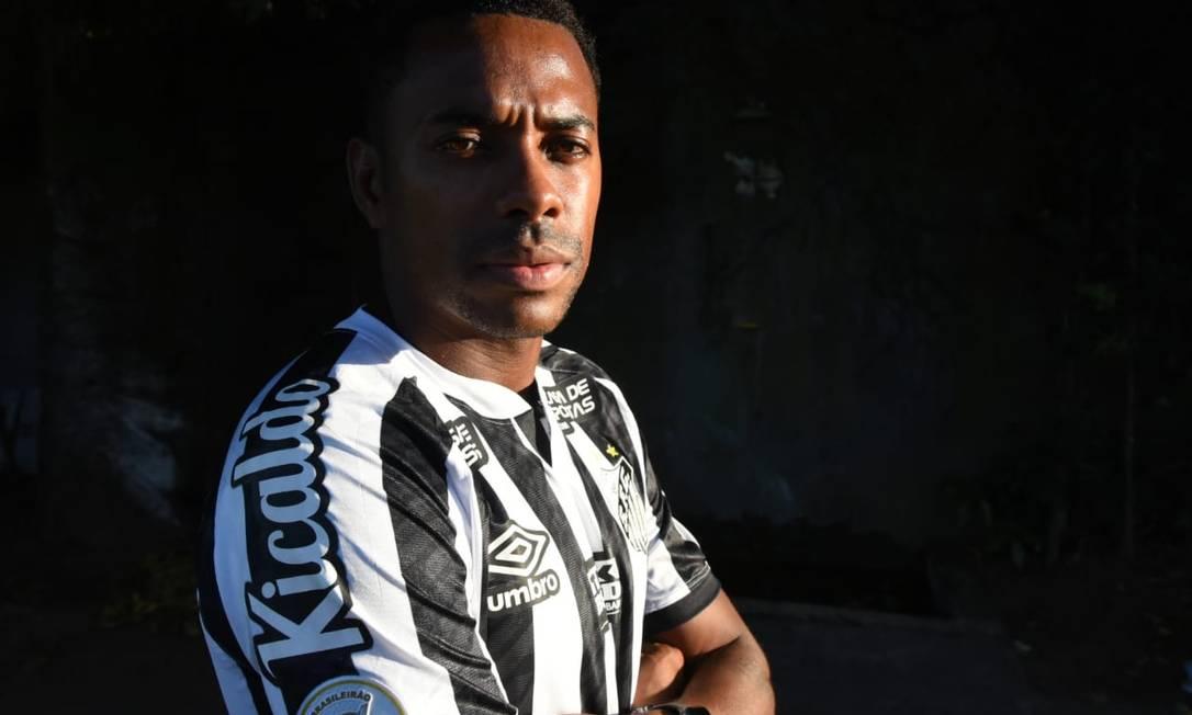 Robinho fará sua quarta passagem pelo Santos Foto: Divulgação/Santos