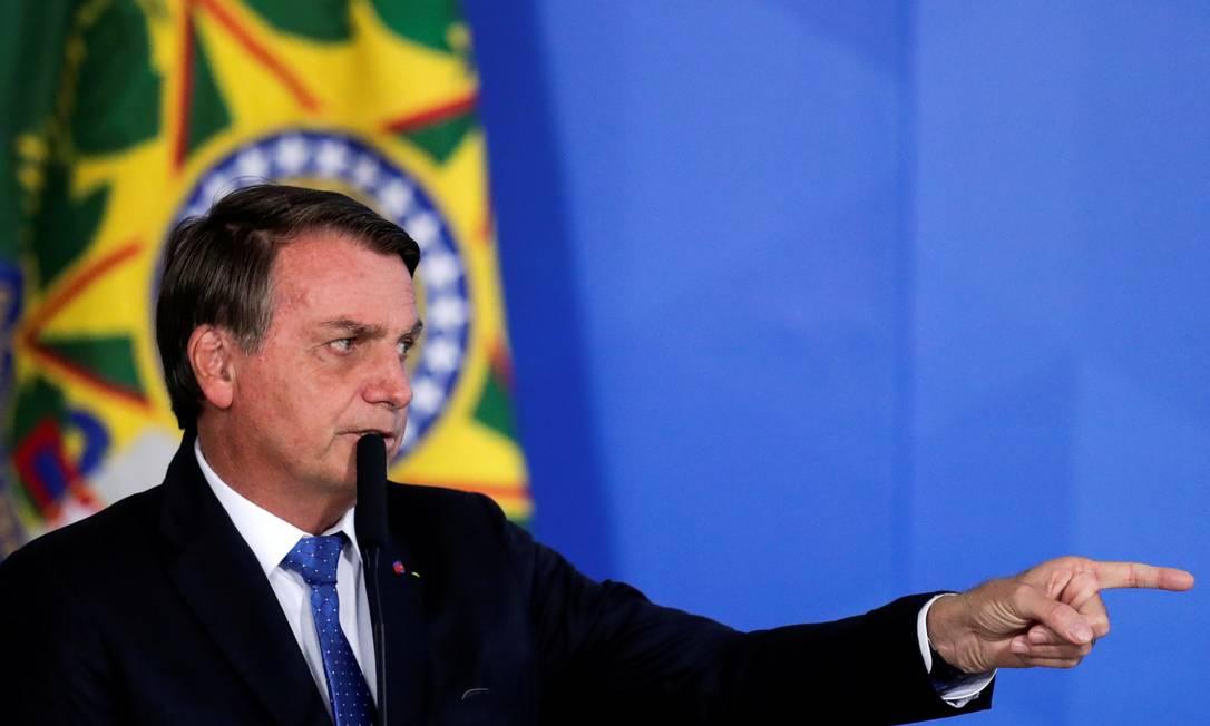 O presidente Jair Bolsonaro disse que vai se reunir com produtores, mas não regular preços Foto: UESLEI MARCELINO / REUTERS