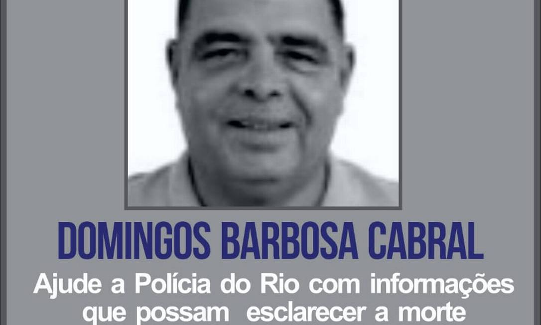 Cartaz foi divulgado no Portal dos Procurados; polícia investiga assassinato Foto: Reprodução