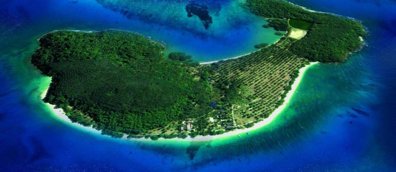 Ilha Rangyai, na Tailândia, está entre as que integram catálogo da Private Islands Inc: milionários buscam ilhas para se isolarem na quarentena deixando corretores sobrecarregados Foto: Reprodução