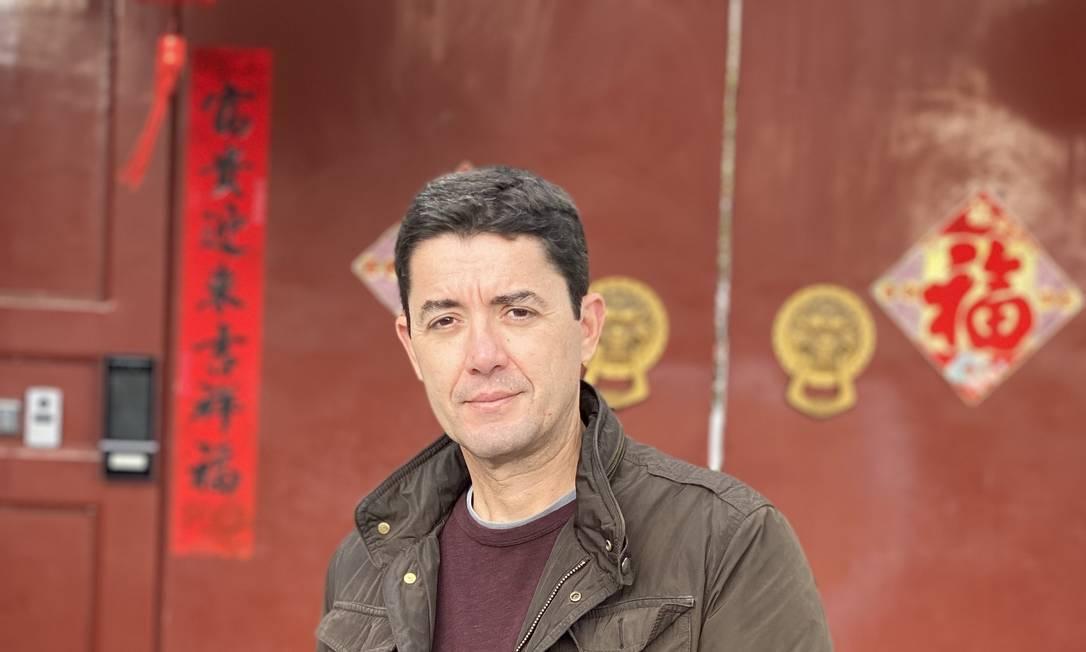 """""""A ideia é mostrar, com um olhar brasileiro, a China real por trás dos superlativos que fascinam o mundo"""", diz Ninio, que volta a morar em Pequim após cinco anos Foto: Arquivo pessoal"""