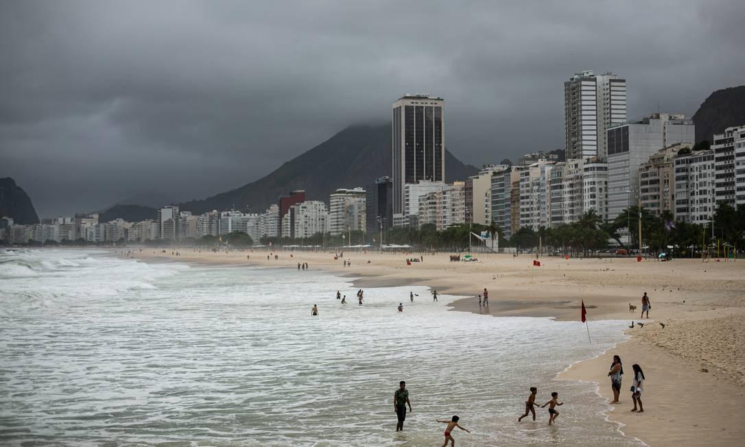Inverno aumenta risco de contaminação por coronavírus Foto: Hermes de Paula / Agência O Globo