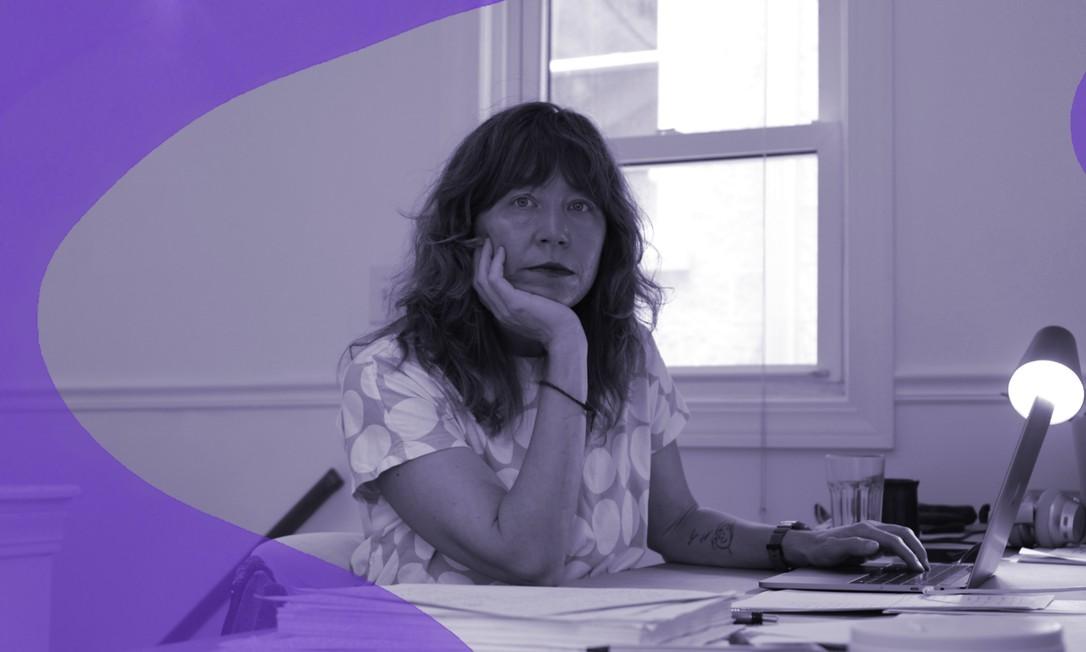 """Susan Pearson, professora de História da Universidade Northwestern, em Chicago, nos EUA, diz que a maternidade é muitas vezes vista na Academia como """"uma escolha pessoal"""", não uma origação social Foto: OLIVIA OBINEME/NYT"""