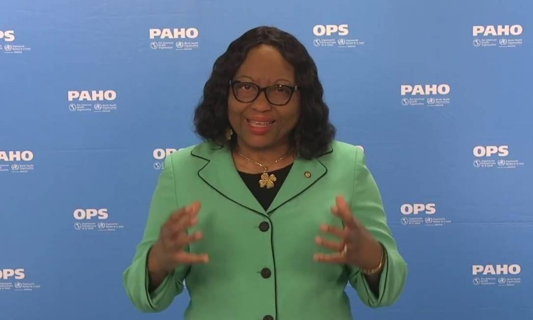 A diretora da Organização Pan-Americana da Saúde, Carissa Etienne Foto: Divulgação/OPAS