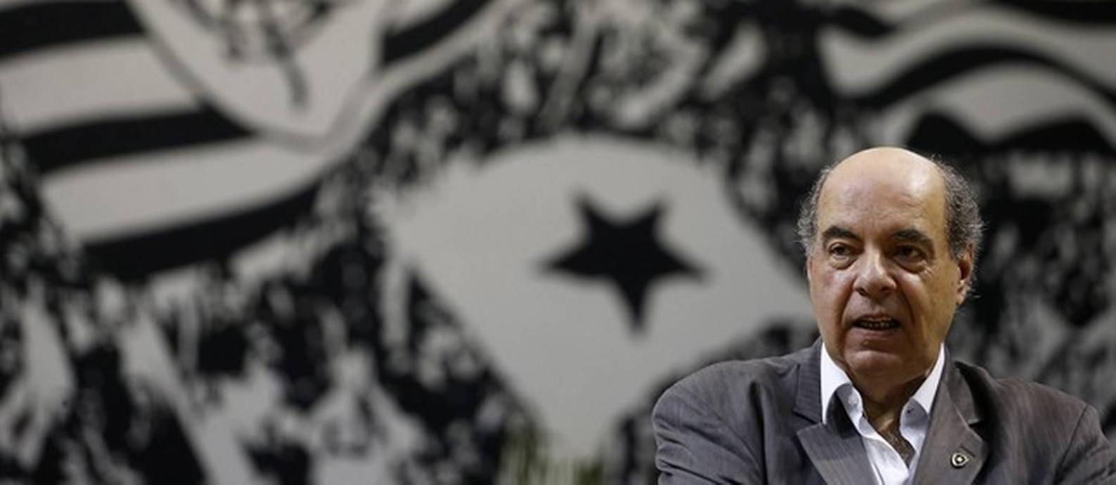 Nelson Mufarrej, presidente do Botafogo Foto: Vitor Silva/Botafogo