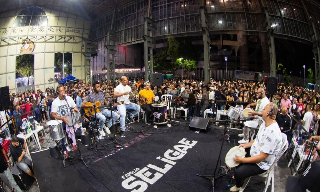 Samba da Feira volta ao Engenhão com show da banda Seligae Foto: Divulgação