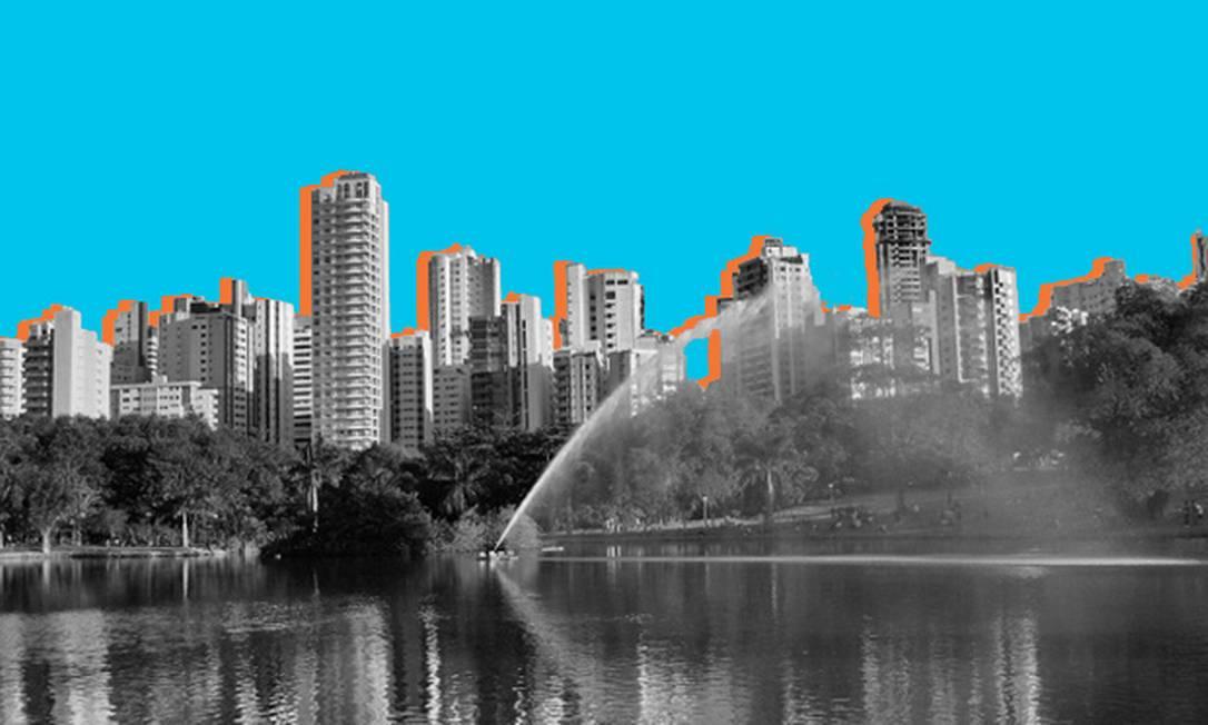 Eleições em Goiânia Foto: Editoria de Arte