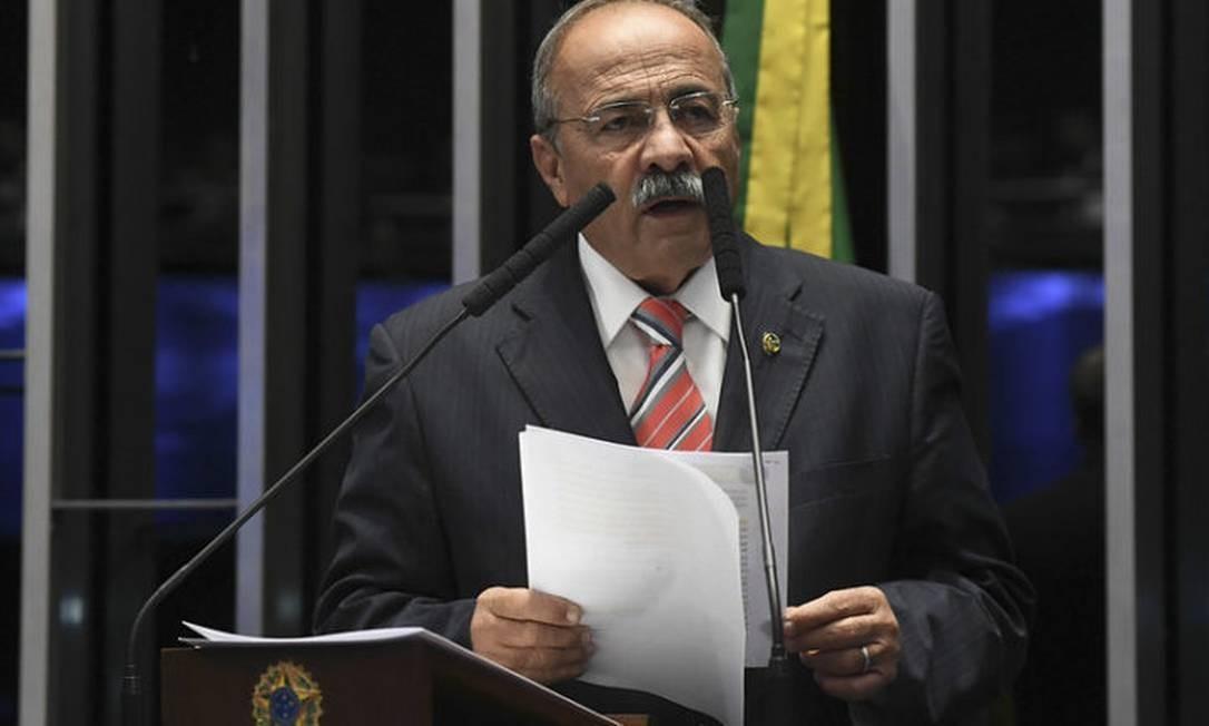 O senador Chico Rodrigues (DEM-RR), vice-líder do governo no Senado Foto: Jefferson Rudy/Agência Senado