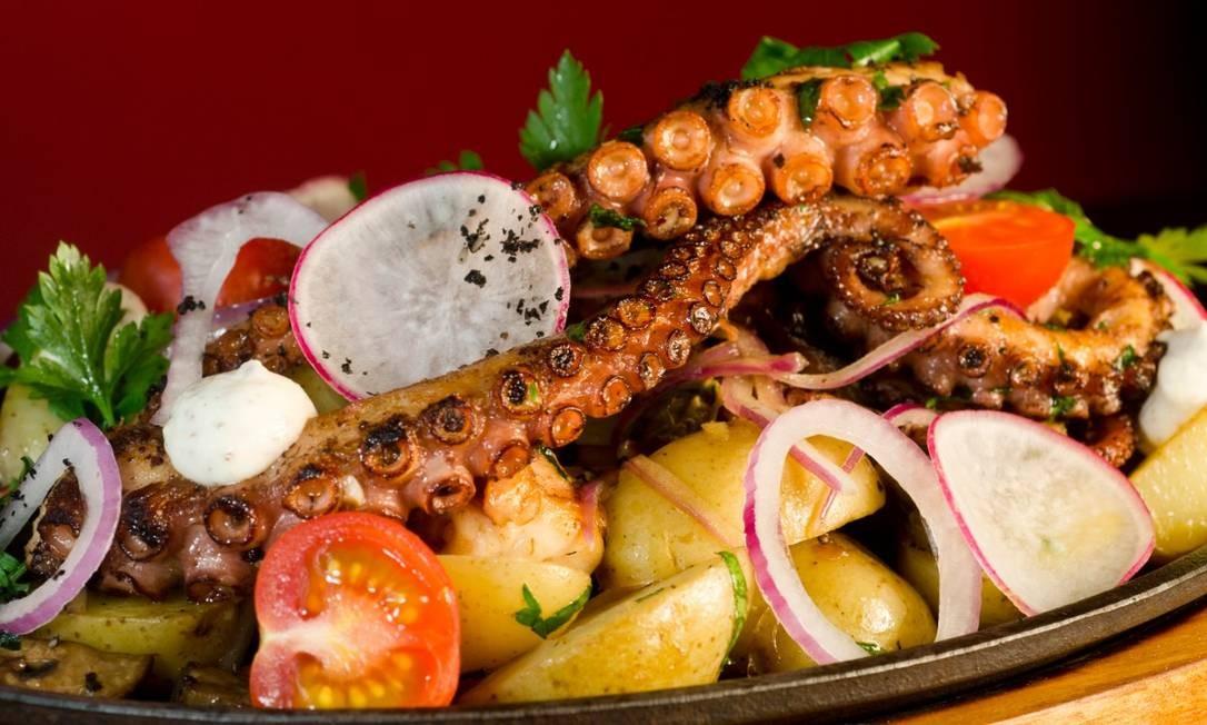 Pratos de frutos do mar são destaques no Lima Cocina Peruana Foto: Divulgação/Fábio Rossi