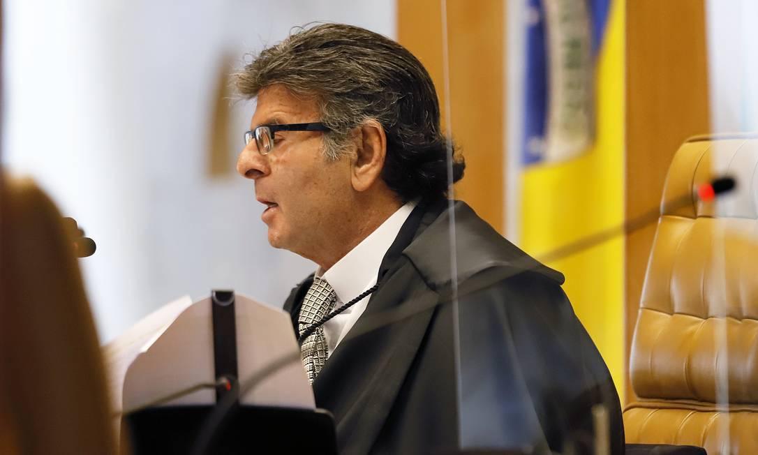 Luiz Fux, presidente do STF Foto: Divulgação