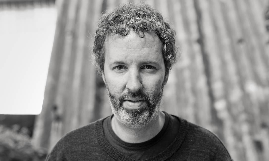 """O escritor Michel Laub, autor de """"Solução de dois Estados"""", publicado pela Companhia das Letras Foto: Renato Parada / Divulgação"""