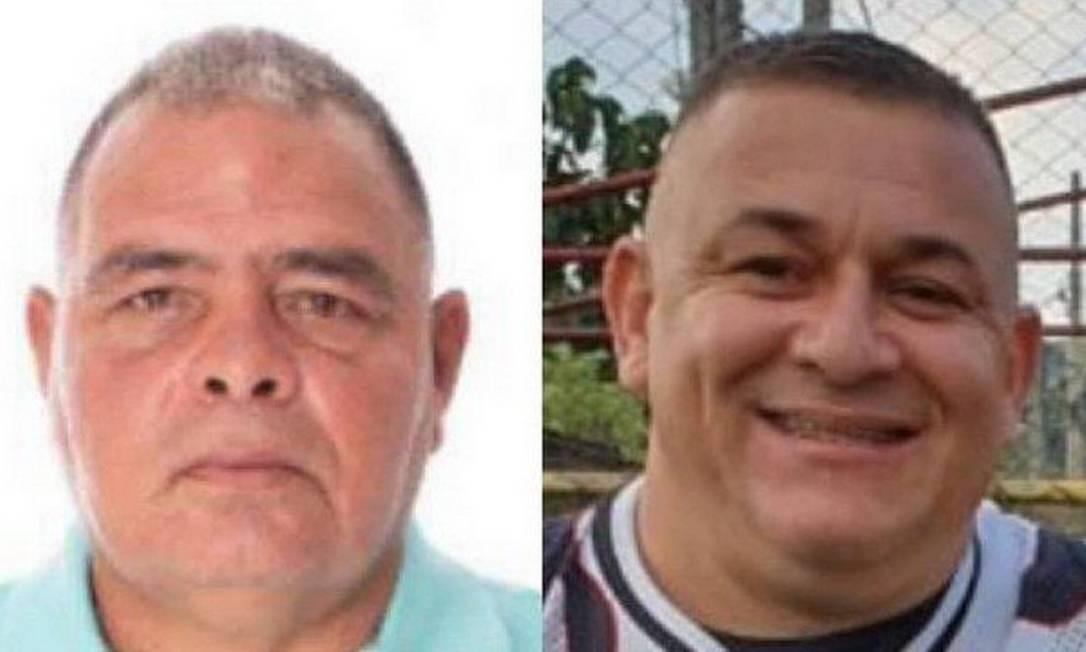 Domingão e Mauro da Rocha, candidatos a vereadores, foram mortos no intervalo de menos de 15 dias em Nova Iguaçu Foto: Reprodução
