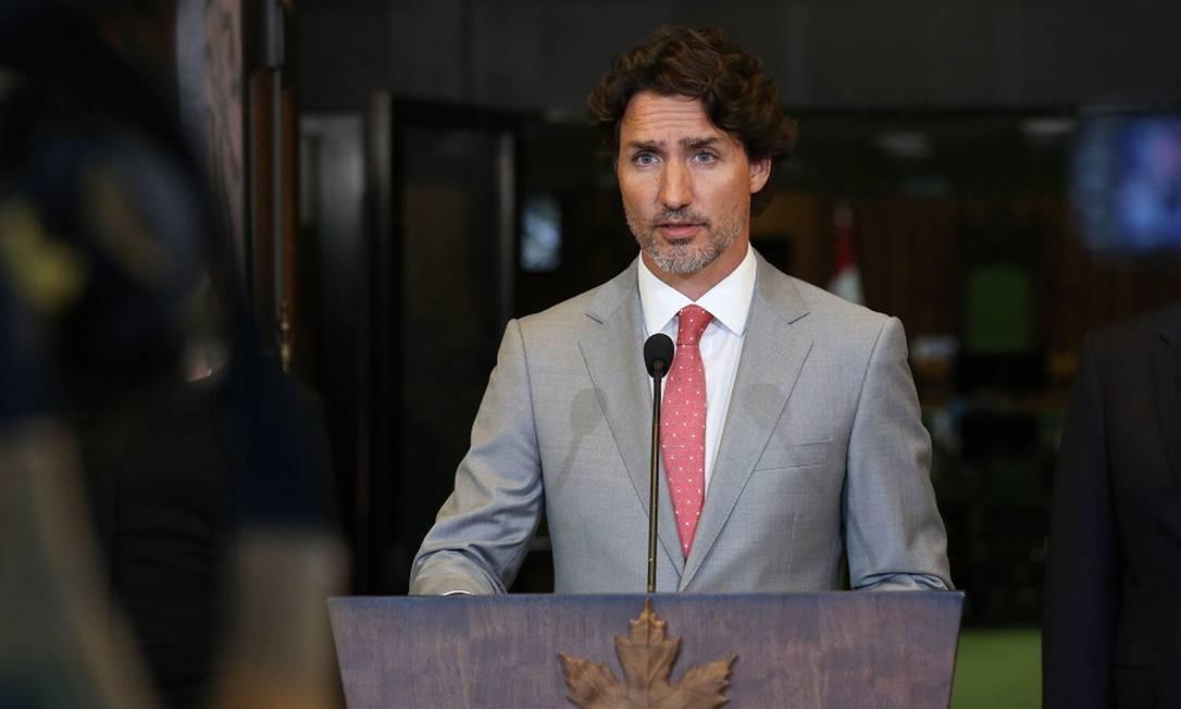 O premier canadense Justin Trudeau: reforço para a diversidade nas empresas. Foto: DAVE CHAN / AFP