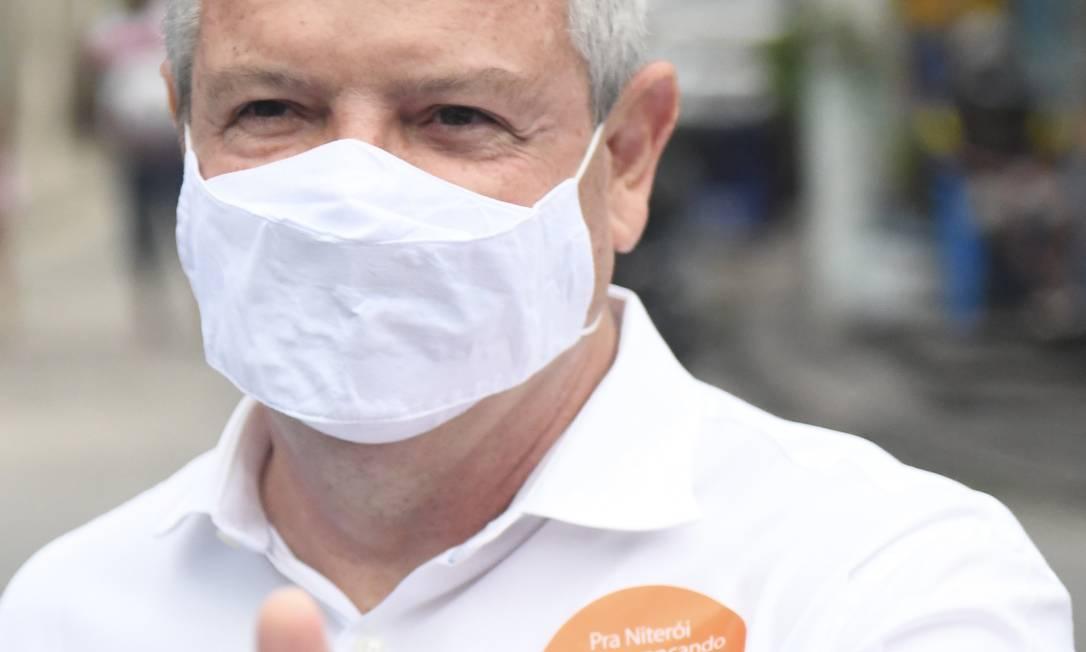Axel Grael: candidato da situação diz que parte dos projetos da atual gestão foi prejudicada pela pandemia de Covid Foto: Divulgação/Leonardo Simplício