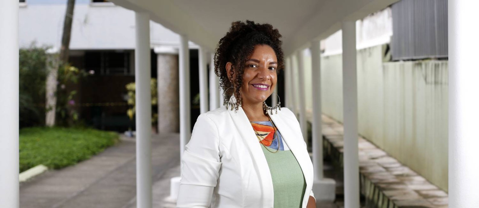 A candidata à Prefeitura do Rio pelo PSOL, Renata Souza Foto: Fabio Rossi / Agência O Globo