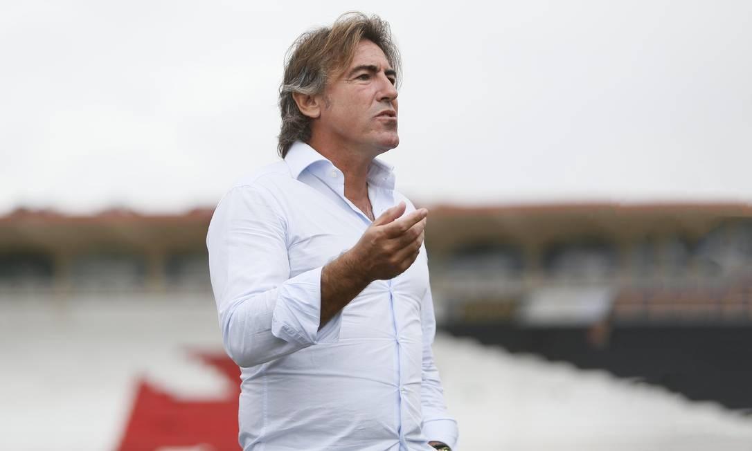 O português Ricardo Sá Pinto, novo técnico do Vasco Foto: Rafael Ribeiro / Rafael Ribeiro/Vasco
