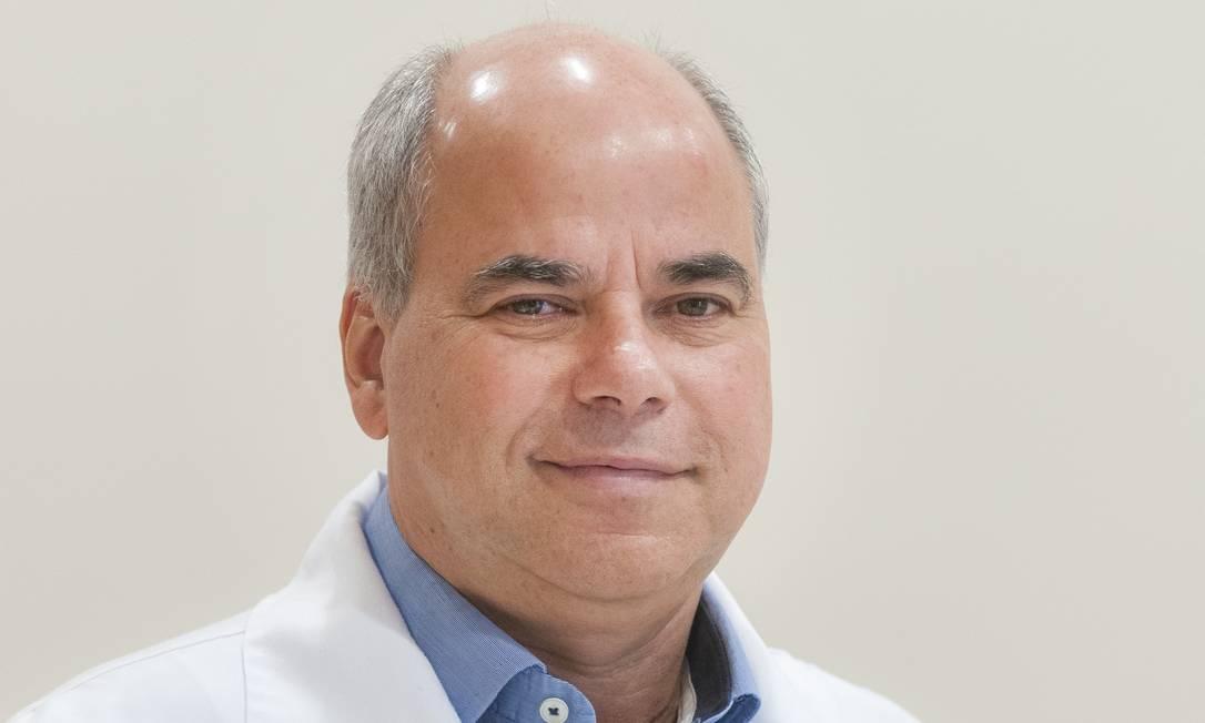 O patologista Helio Magarinos Torres Filho, diretor médico do laboratório Richet Foto: Divulgação