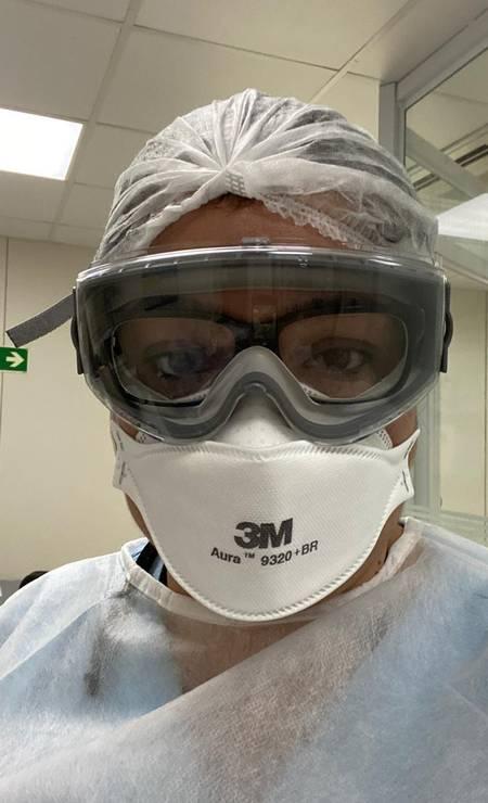 Médica cirurgiã Moema Quintana Foto: Arquivo pessoal
