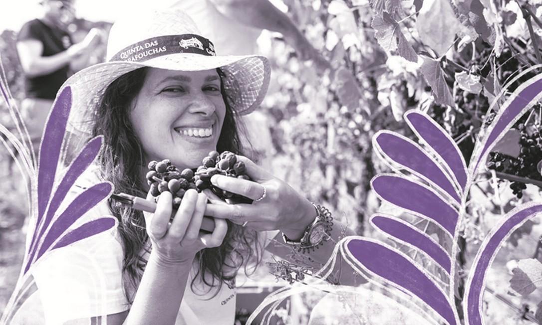 """Olhar feminino. Ana Carolina Santos tirou licença de guia de turismo e iniciou uma empresa de enoturismo: """"Por que não eventos destes só para mulheres?"""" Foto: Divulgação/CAROL ANDRADE FOTOGRAFIA"""