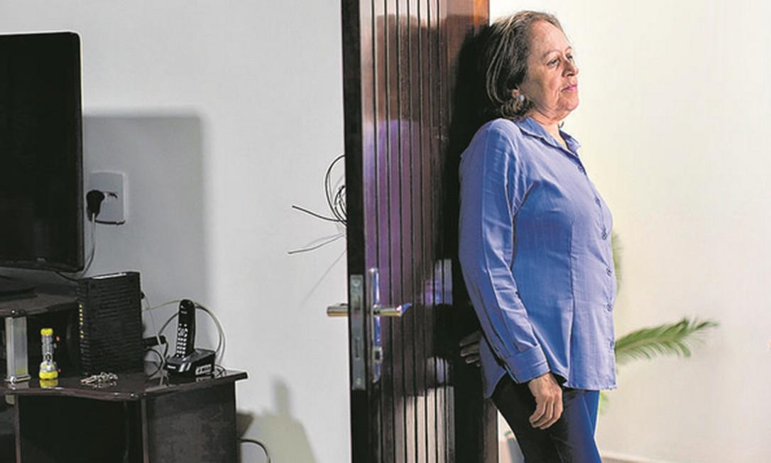 """Marion foi afastada por causa da pandemia e depois demitida: """"Quando a gente chega a uma certa idade, é como se fosse ignorado"""" Foto: Edilson Dantas / Agência O Globo"""
