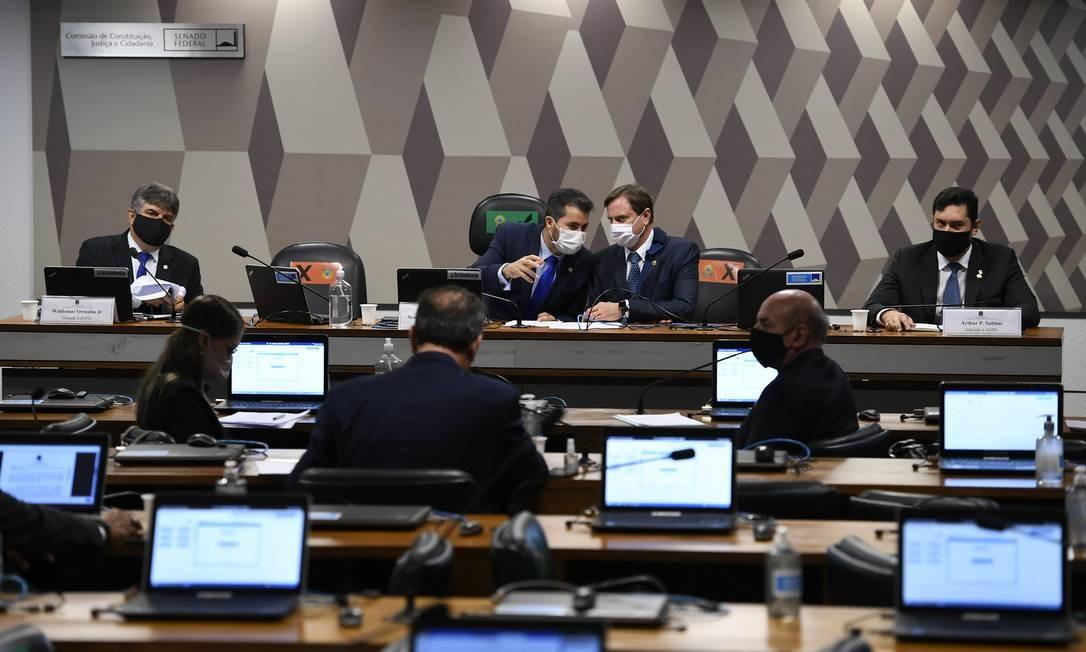 A Comissão de Infraestrutura está apreciando as indicações do governo para agências Foto: Edilson Rodrigues / Edilson Rodrigues/Agência Senad