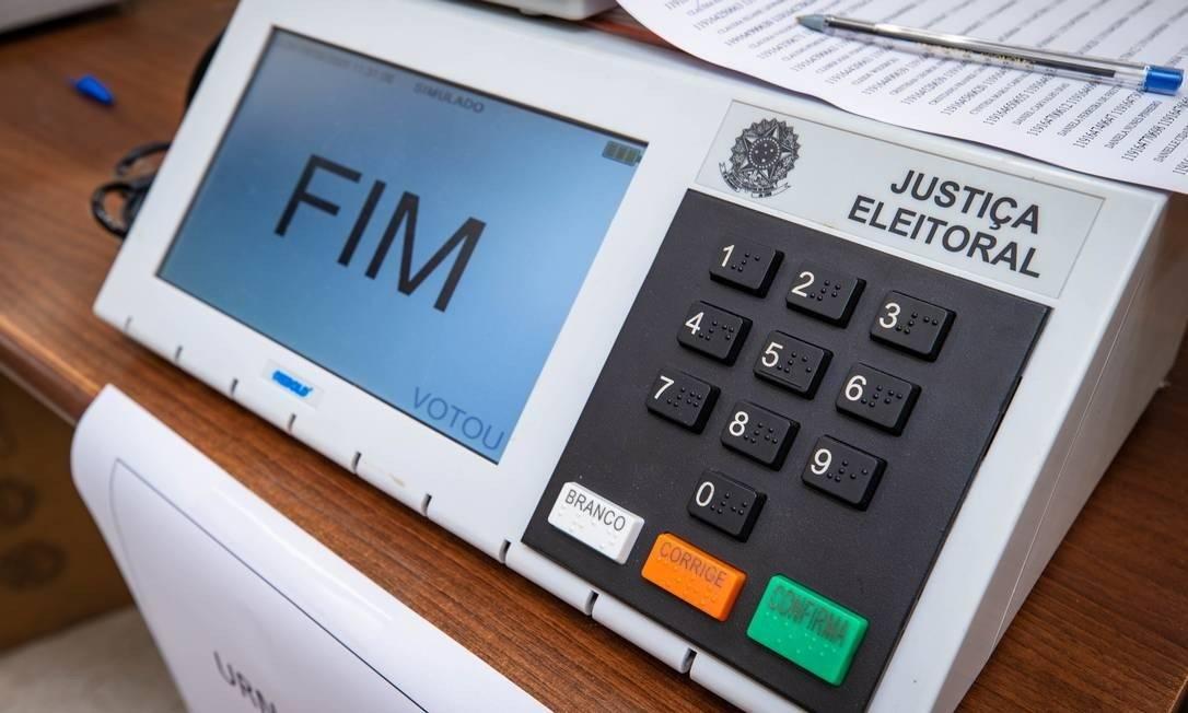 Horários de votação foram estendidos devido à pandemia Foto: fotoarena/Agencia Globo