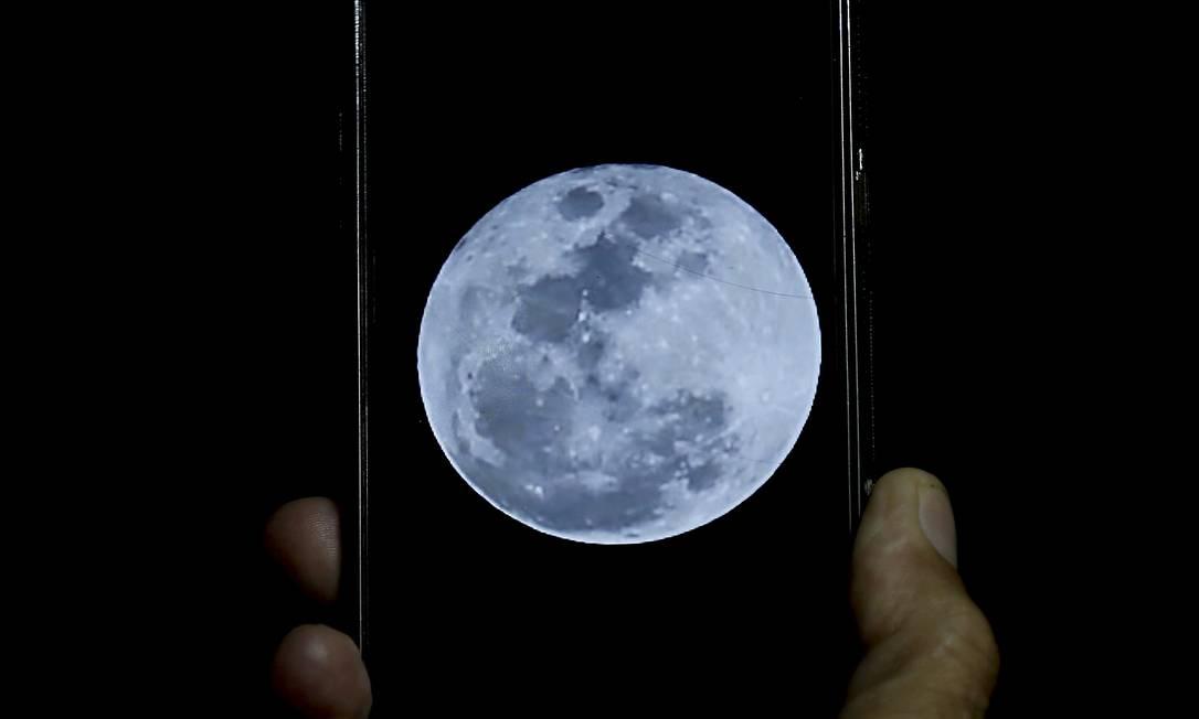 Nokia fecha parceria com a Nasa para contruir rede 4G na Lua até 2022 Foto: Marcelo Theobald / Agência O Globo