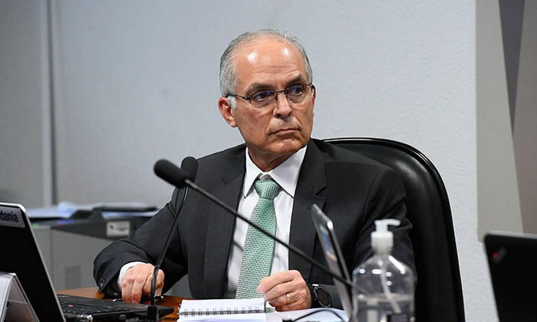 O almirante Rodolfo Henrique Saboia é indicado para o cargo de diretor-geral da ANP Foto: Agência Senado