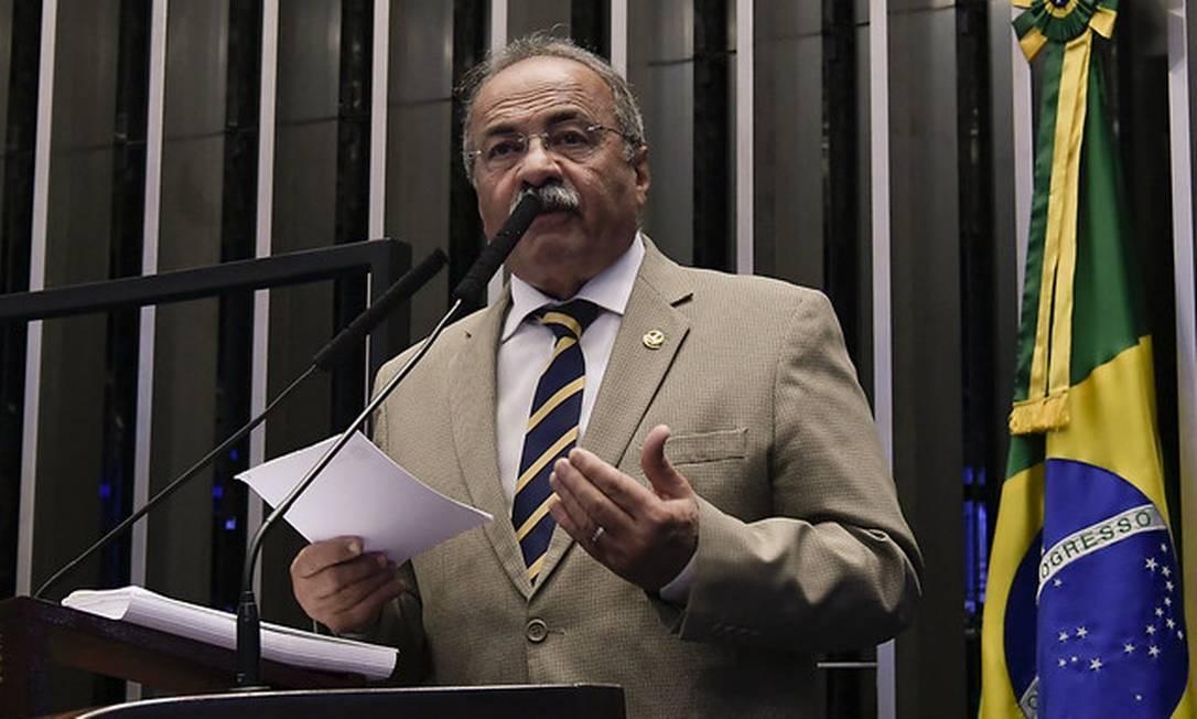 PF apreendeu dinheiro vivo dentro da cueca do ex- vice-líder do governo Bolsonaro no Senado, Chico Rodrigues (DEM-RR) Foto: Waldemir Barreto / Waldemir Barreto/Agência Senado