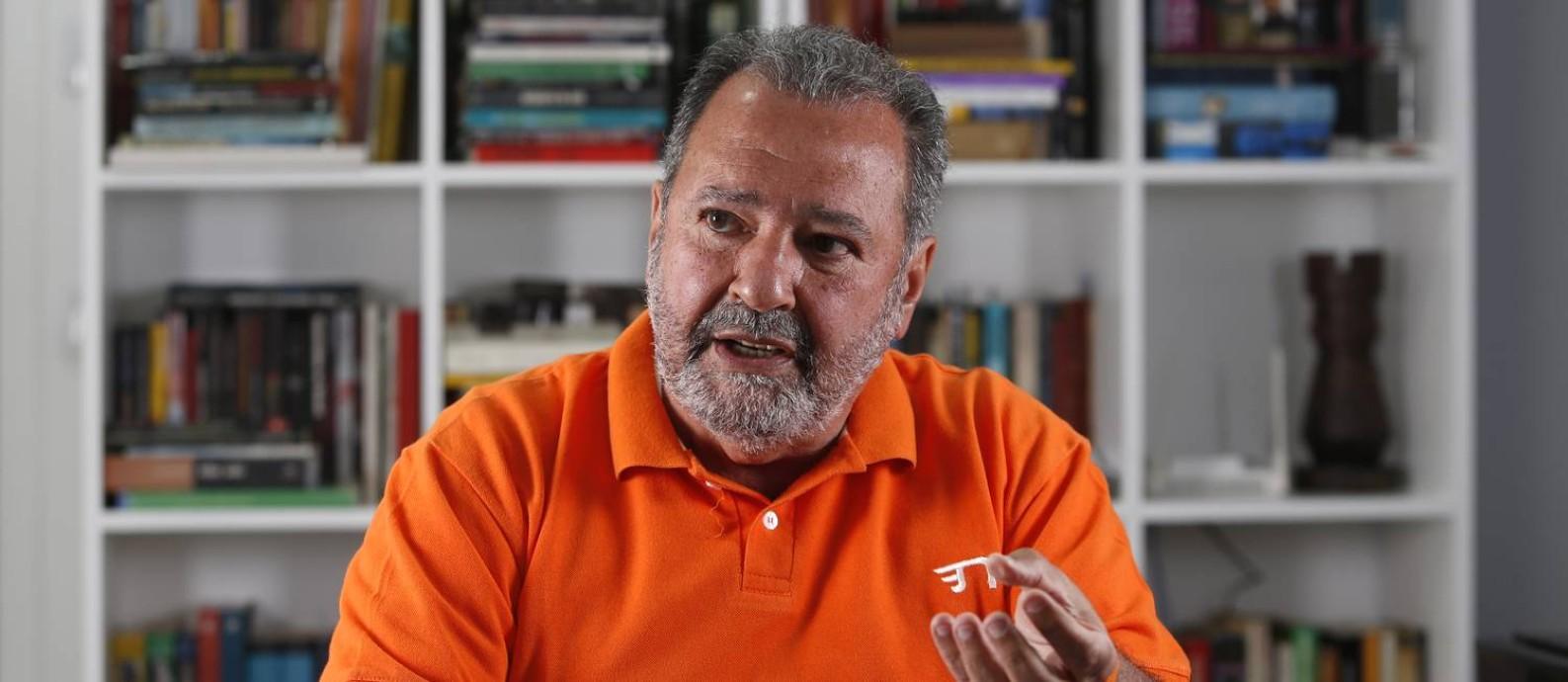 O candidato do NOVO à Prefeitura do Rio, Fred Luz Foto: Fabio Rossi / Agência O Globo