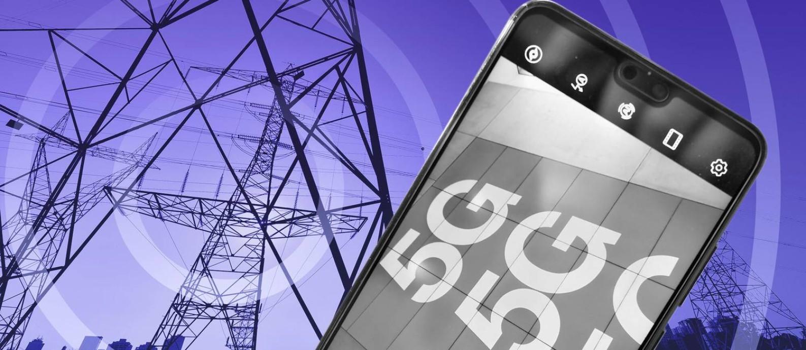 A nova geração da telefonia móvel promete mais velocidade de conexão e revolução da internet das coisas Foto: Editoria de Arte