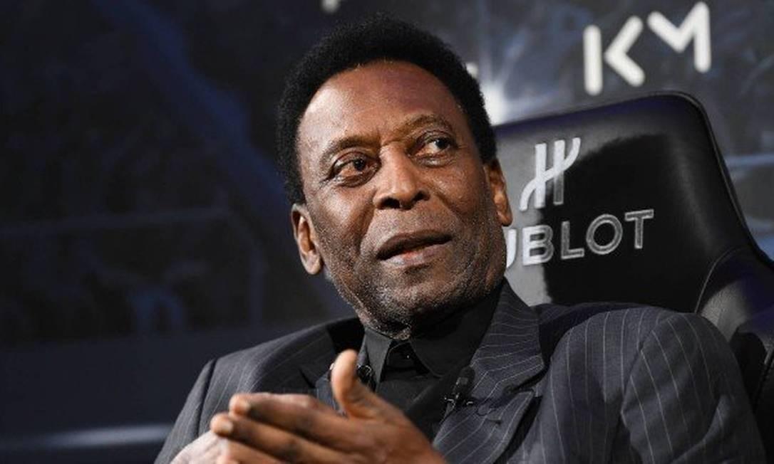 Pelé: Racismo sempre foi um assunto que rendeu muitas críticas Foto: Divulgação