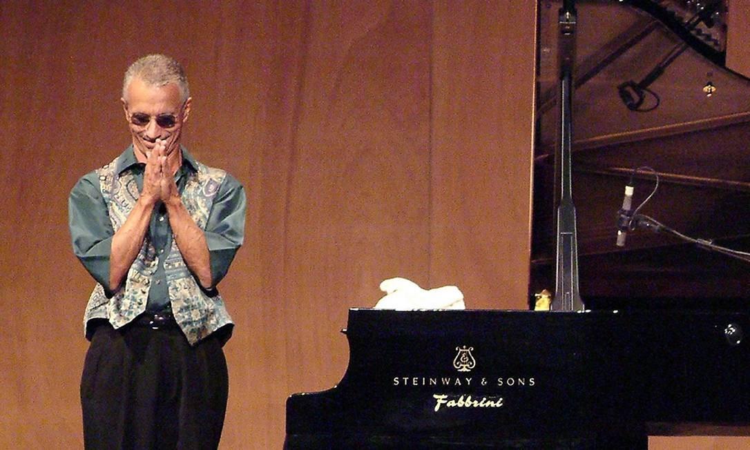 O pianista americano Keith Jarrett em 2006: 'Não sei o que será do meu futuro' Foto: Michele Crosera / AFP