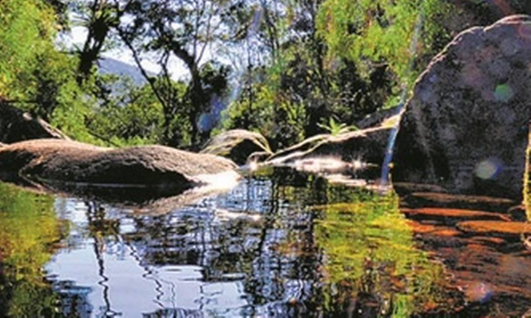 Cachoeira Véu da Noiva, no Parque Nacional da Serra dos Órgãos Foto: Divulgação