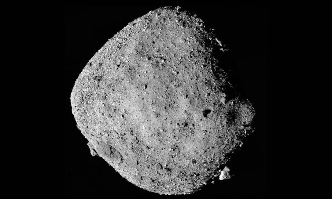 Asteroide Bennu, alvo da missão com a sonda Osiris-Rex Foto: Nasa