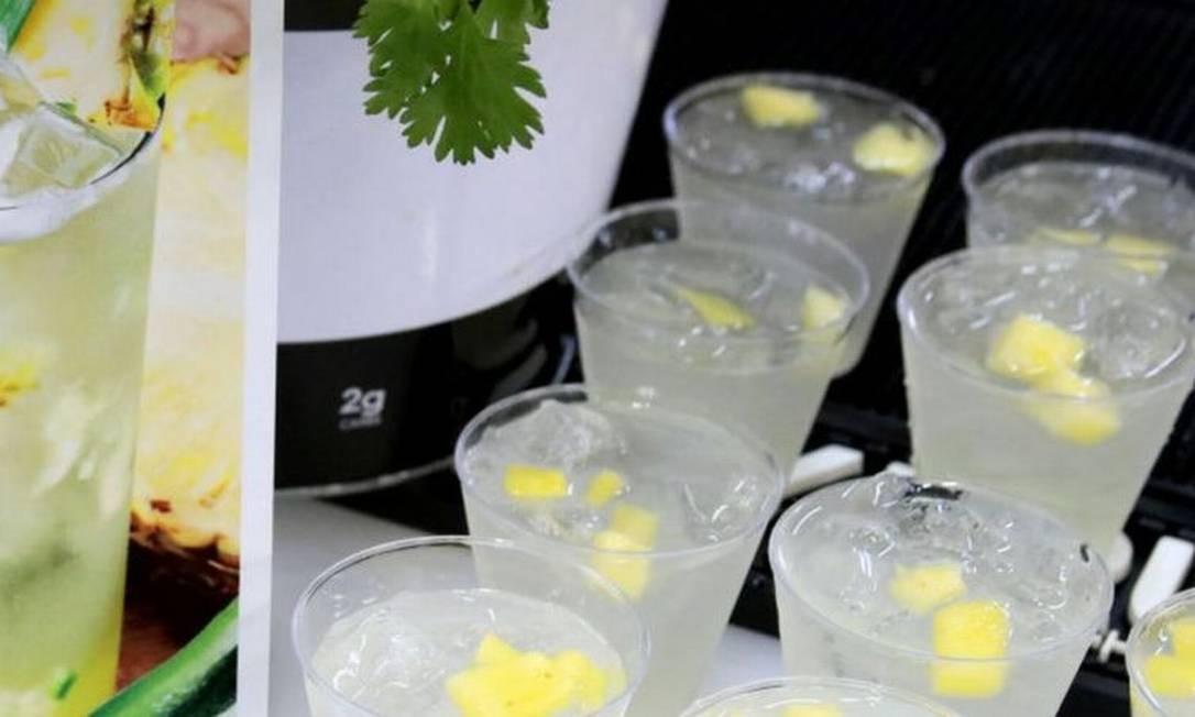 Os 'hard seltzers' são uma das bebidas da moda, especialmente entre os mais jovens Foto: Getty Images