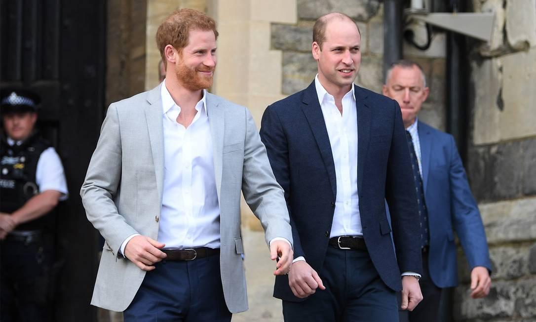 William e Harry Foto: Getty Images