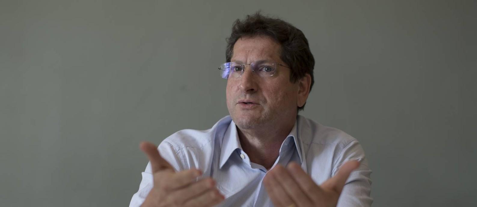 O candidato do PT à Prefeitura de São Paulo, Jilmar Tatto Foto: Edilson Dantas / Agência O Globo